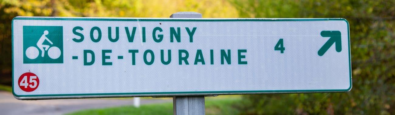 Panneau Loire A Velo Tours
